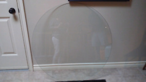 Round Tempered Glass
