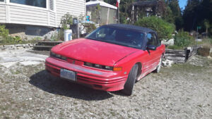 Oldsmobile Convertible Restoration Project Plus Parts for 1994