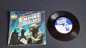 STAR WARS THE EMPIRE STRIKES BACK READING BOOK AND LP