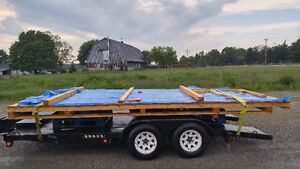 Best Offer....Ready to go Deck for at trailer park