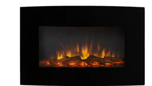 Wayfair Callaway Wall Mounted Fireplace ....Great Deal for $200