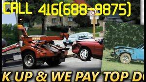 TOP$$CASH$$ for scrap CARS& used CARS call 416(688-9875)