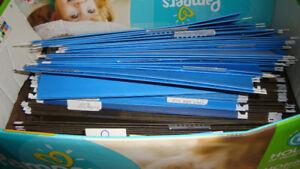 Box full of letter sized hanging folders. Great shape.