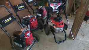 For sale 4 Honda pressure washers $580 for all 4
