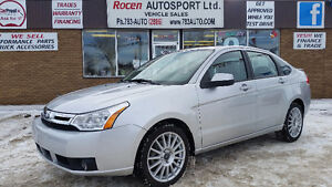 "2009 FORD FOCUS ""SES"" - LOADED - BLUETOOTH - AUTO - YORKTON"