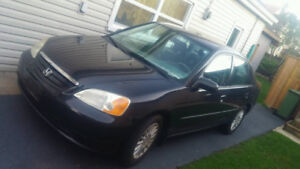 2003 Honda Civic FOR SALE! Low KMs.