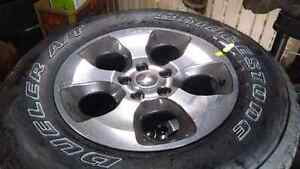 Jeep - Five Brand New Sets of Tires and Rims