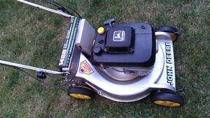 John Deere 14SB mower with Kawasaki engine