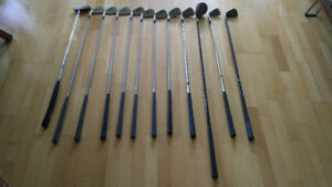 Pre-owned Cobra Lady Cobra Irons + Driver/Putter and Golf Bag