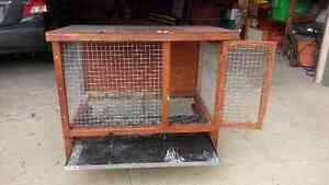 Rabbit or small animal hutch $85 OBO Regina Regina Area image 2