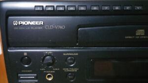 $150 Pioneer Laserdisc Karoake Player