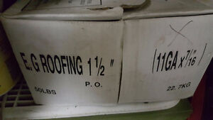 Roofing nails 1 1/2""