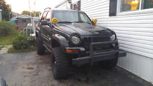 2002 Jeep Liberty 5.9 v8 swapped lifted