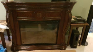 Electric Fireplace - excellent condition!!