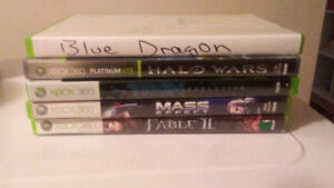 Selling 5 xbox360 games