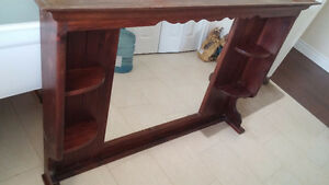 'All Wood' -Mirror unit for Dresser Peterborough Peterborough Area image 4
