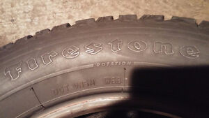 4 Firestone Winterforce 215 60 16 winter tires in excellent cond Cambridge Kitchener Area image 6