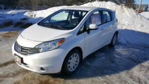 2014 Nissan Versa Note SV with conv pkg
