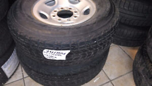 245/75/16**WINTER TIRES*LIGHT TRUCK*FIRESTONE**9/32 TREAD X2