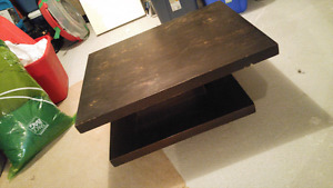 West Elm contemporary coffee table