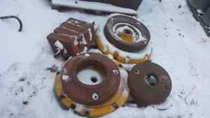 Variety of Tractor Wheel Weights/Hubs