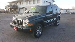2005 JEEP LIBERTY LIMITED SUV *** LOADED 4X4 *** CERT $5995