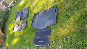 Elantra floor mats and trunk liner for sale.
