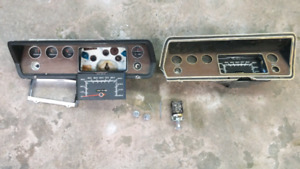 1971 Dodge Demon - Assorted Dash Components