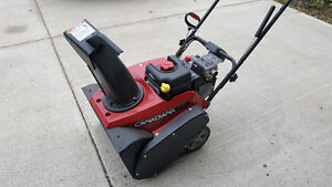 Canadiana Snowthrower - 22""
