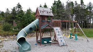 Large Backyard Kids Playset