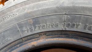 pneus d'hiver 2 ans d'usure