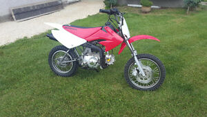 Modified to CRF with raised suspension