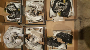 BAUER SUPREME ONE100LE ONE100 ONE80LE ONE80 ONE60 GOALIE SKATES