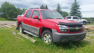 2003 Chevrolet Avalanche - need gone asap