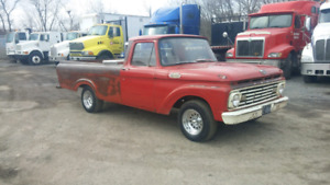 SOLID WESTERN 1963 FORD F100 UNIBODY LONGBOX