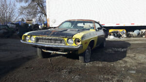 1972 Dodge Challenger Project