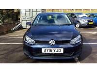 2016 Volkswagen Golf 1.4 TSI 125 Match Edition 5dr Manual Petrol Hatchback