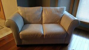 Cindy Crawford leather sofa 3pc & love Windsor Region Ontario image 1