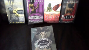 5 L.A. Banks books from A Vampire Huntress Legend series