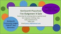 KENILWORTH PLAYSCHOOL'S I'VE OUTGROWN IT SALE