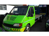 1994 Ford Transit Recovery Truck .(.Needs Repairs As None Starter Best Offers )