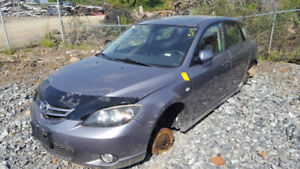 2006  MAZDA 3  JUST IN FOR PARTS AT PIC N SAVE! WELLAND