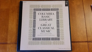 Vintage Classical Music Records