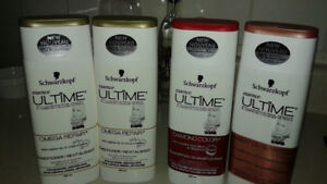 2 Shampoos and 2 Conditioners ALL UNUSED!!
