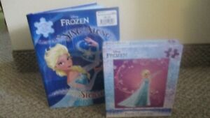 New Frozen Book, CD and puzzle