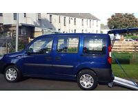 Fiat doblo 1.4 petrol and mobility scooter