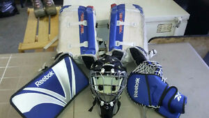 Goalie--Road Hockey Goalie equipment and Net