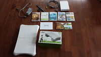 Wii Set with 7 Games and a Wii Fit Board