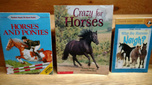3 Horses and Ponies books for children