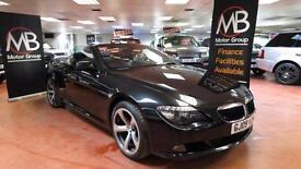 2009 BMW 6 SERIES 635d M SPORT Auto Sat Nav Full Leather Diesel